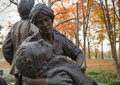Close Up Vietnam Women S Memorial Statue Stock Photo - 27841010