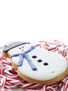 Snowman Cookie Royalty Free Stock Photography - 27844587