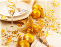 Christmastime Table Decoration Royalty Free Stock Photography - 27848937