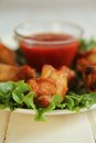 Chicken Wings Royalty Free Stock Photography - 27858727
