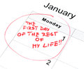 New Year Resolution Stock Photos - 27860523