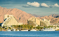 View On Resort Hotels Of Eilat Stock Images - 27863514
