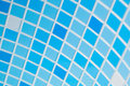 Blue Mosaic Background Stock Photography - 27866382