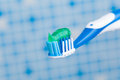 Toothbrush With Toothpaste Stock Photos - 27866563