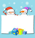 Christmas And New Year Greeting Card Stock Photo - 27874500