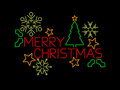Merry Christmas Sign Royalty Free Stock Image - 27876456