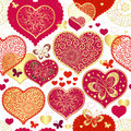 Seamless Valentine Pattern Royalty Free Stock Images - 27885809