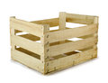 Wooden Crate Royalty Free Stock Photo - 27890665
