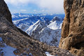 View From The Marmolada, A Mountain In Italy Stock Photography - 27897052