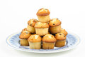 Muffins With Chocolate Chips Stock Photo - 27898630
