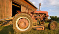 Antique Tractor Stock Images - 2791754