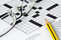 Crossword Puzzle Royalty Free Stock Photography - 2797737