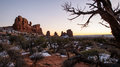 Arches National Park - Turrets Royalty Free Stock Images - 27901729