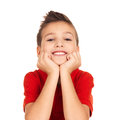 Happy Young Boy Stock Images - 27903694