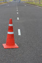 Traffic Cone Royalty Free Stock Photos - 27906228
