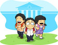 Kids Going Back To School Royalty Free Stock Photo - 27907605