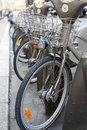 Bicycle Parking Stock Image - 27914311