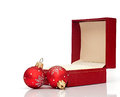 Open Christmas Gift Box Royalty Free Stock Images - 27915869