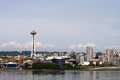 Seattle From Sea Stock Photography - 27917592