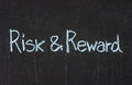 Risk And Reward Royalty Free Stock Photos - 27920138