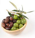 Olives In A Bowl Stock Photo - 27926650