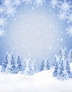 Winter Frame Stock Image - 27935431