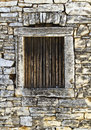 Window Of An Old Stone House Royalty Free Stock Image - 27940146