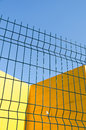Panel Wire Fence Stock Photos - 27942713