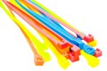 Cable Ties Of Plastic Royalty Free Stock Photos - 27944138
