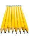 Row Of Pencils Stock Photography - 27944242