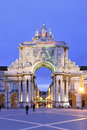 Rua Augusta Arch Royalty Free Stock Photo - 27947345