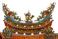 Chinese Temple Roof Stock Photos - 27957783