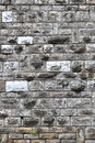 Irregular Rectangular Stone Brick Wall Stock Images - 27958814