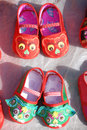 Chinese Traditional Baby Cloth Shoes Royalty Free Stock Images - 27963749
