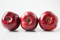 Three Red Apples Stock Image - 27968841