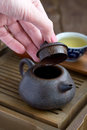 Traditional Chinese Tea Ceremony Accessories Royalty Free Stock Photography - 27977677