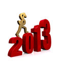 Economy Improves In 2013 Royalty Free Stock Photos - 27978028