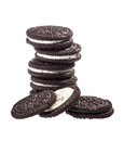 Chocolate Cookies Royalty Free Stock Photography - 27980557
