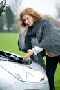 Roadside Assistance Needed Royalty Free Stock Photo - 27980905