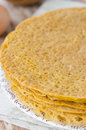 Stack Of Crepes Made of Corn Flour Stock Images - 27983934