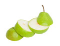 Sliced pear Royalty Free Stock Image - 27992356