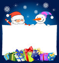 Christmas And New Year Greeting Card Stock Photo - 27993960