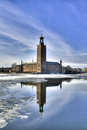 Stockholm City Hall. Stock Image - 27995381