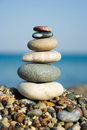 Stacked Pebbles Royalty Free Stock Image - 2802456