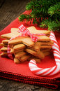 Christmas Gingerbread Cookies And Candy Stock Photos - 28008923