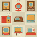 Retro Vintage Tv Set Royalty Free Stock Images - 28015209