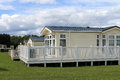 Static Caravans In Holiday Park Royalty Free Stock Image - 28020366