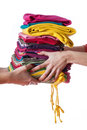 Ironed Clothes Royalty Free Stock Image - 28025856