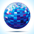 Abstract 3d Blue Sphere Stock Photos - 28034083