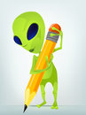 Funny Alien Stock Images - 28036484